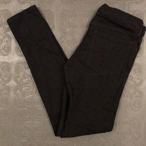 Banana Republic Black Denim Skinny Jean